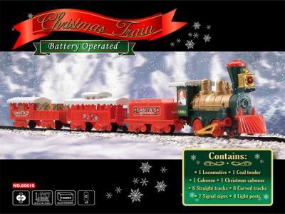 Железная дорога Christmas Train 29 частей Eztec