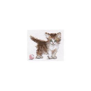 Набор для вышивания  Маленькая киса 10х8 см Алиса