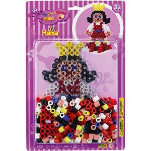 Термомозаика  Perlen Принцесса, 250 бусин Hama. Цвет: разноцветный