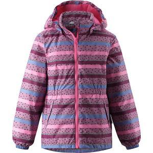 Демисезонная куртка Lassie. Цвет: фиолетовый