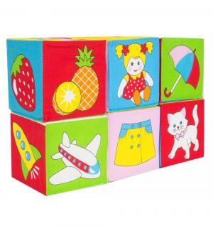 Кубики  Картинки и предметы Мякиши