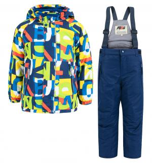 Комплект куртка/полукомбинезон , цвет: зеленый Fobs