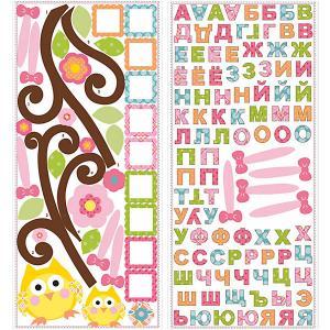 Наклейки для декора Веселый алфавит RoomMates