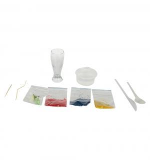 Набор для создания гелевых свечей  Цветочное сияние Инновации детей