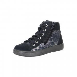 Ботинки  для девочки Superfit. Цвет: серый