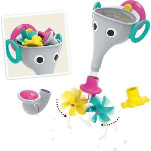 Игрушка для купания  Веселый слон Yookidoo. Цвет: серый