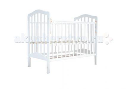 Детская кроватка  5 без ящика маятник поперечный Лаура
