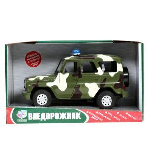 Машинка инерционная  УАЗ Hunter Военный JOY TOY