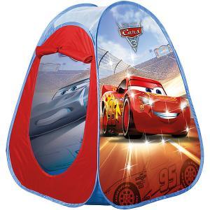 Палатка с подсветкой  Тачки, красная John. Цвет: красный
