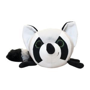 Мягкая игрушка  Енот 21 см цвет: черный+белый Fancy