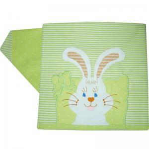 Комплект постельного белья , цвет: салатовый 3 предмета Папитто