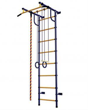 Спортивный комплекс  С2НМ, цвет:синий/желтый Пионер