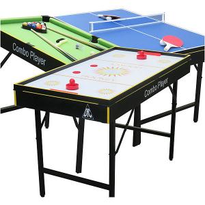 Игровой стол-трансформер 3 в 1  Smile DFC. Цвет: белый