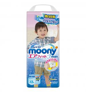 Трусики  ХXL для мальчиков (13-25 кг) 26 шт. Moony