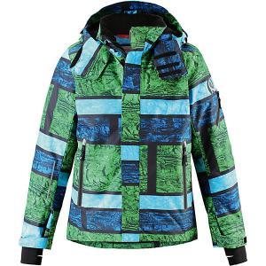 Куртка Wheeler  для мальчика Reima. Цвет: зеленый