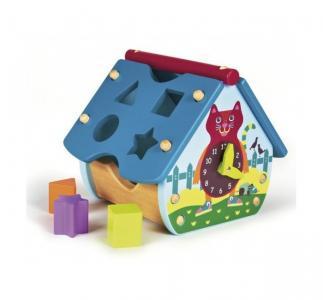 Деревянная игрушка  Домик-сортер Oops