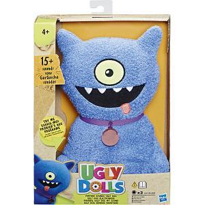 Мягкая игрушка Ugly Dolls Зубастер Дог 33 см, звук Hasbro. Цвет: разноцветный