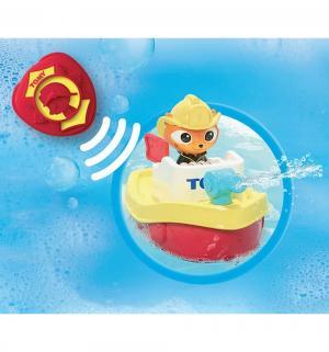 Игрушка для ванной  Пожарный катер Капитан Кот Tomy