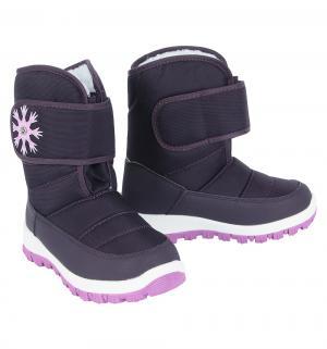 Сапоги , цвет: фиолетовый Прыг-Скок