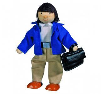 Кукла деревянная Отец Goki