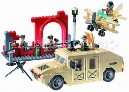 Конструктор  Джип военный 817 (323 элемента) Enlighten Brick