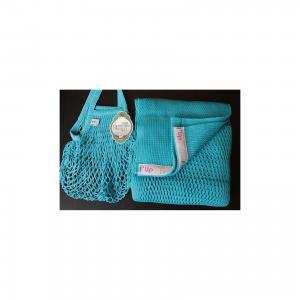 Слинг-шарф из хлопка плетеный размер l-xl, Филап, , синий Filt
