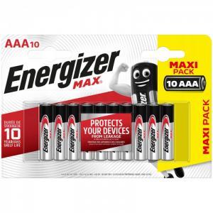 Батарейка Max AAA (LR03) алкалиновая 10BL Energizer