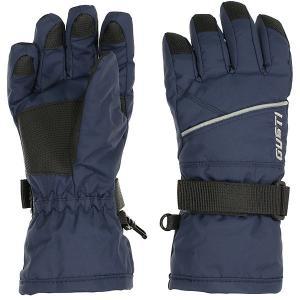 Перчатки GUSTI. Цвет: темно-синий