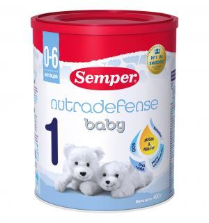 Молочная смесь  Nutradefense 1 0-6 месяцев, 400 г Semper