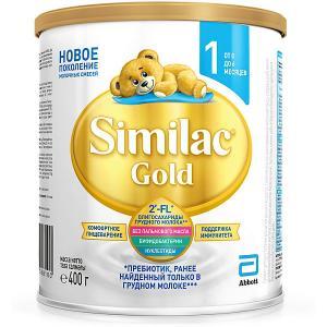 Молочная смесь  Gold 1, с 0 мес, 400 г Similac