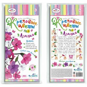 Креповые цветы своими руками Азалия 3 цвета Чудо-Творчество