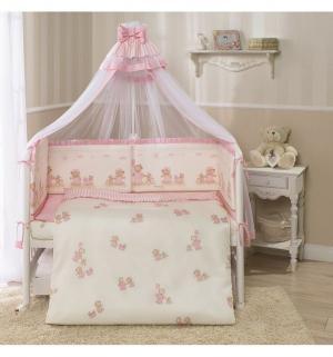 Комплект постельного белья  Тиффани, цвет: розовый 3 предмета Perina