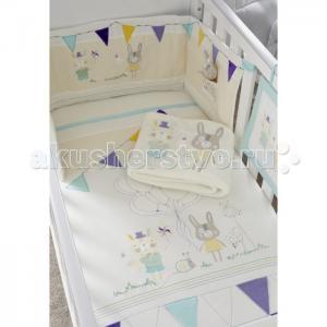Комплект в кроватку  Garden Party (7 предметов) Tutti Bambini