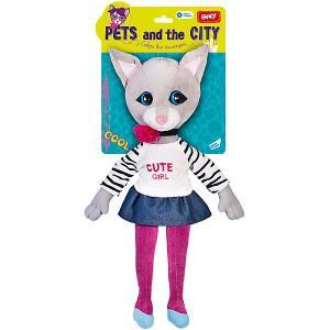 Мягкая игрушка  Кошка Сьюзетт Fancy. Цвет: серый