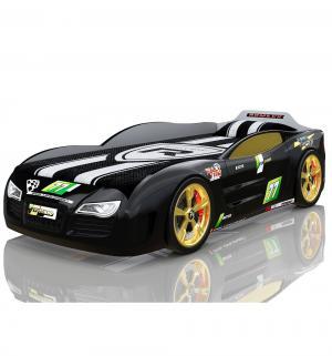Кровать-машинка  Renner 2, цвет: черный Romack