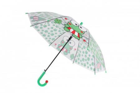 Зонт  прозрачный Лягушка Bradex