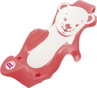 Горка для купания  Buddy, цвет: розовый Okbaby