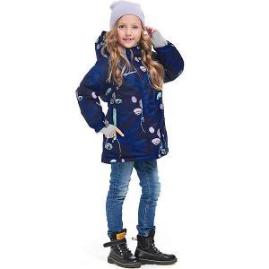 Комплект Oldos Миа: куртка и полукомбинезон. Цвет: синий