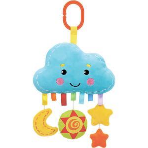 Игрушка-подвеска  Облачко Жирафики. Цвет: разноцветный