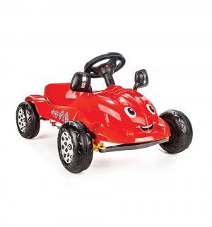 Педальная машина  Happy Herby, цвет: красный Pilsan