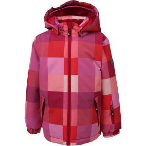 Утеплённая куртка Color Kids Dikson. Цвет: розовый