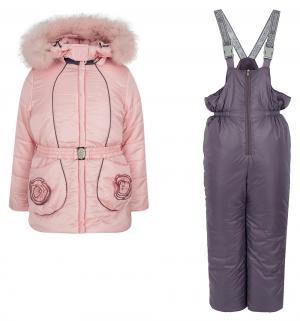 Комплект куртка/брюки  Леденец, цвет: розовый Аврора