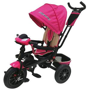 Трехколесный велосипед  12х10, розовый Lexus Trike. Цвет: розовый