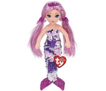 Мягкая игрушка  Лорелей русалка c пайетками 50 см TY пайетками50