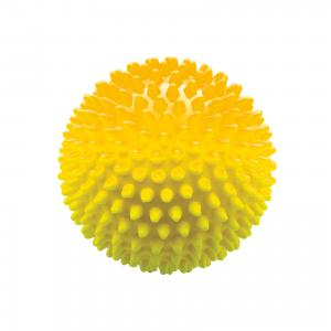 Мяч ёжик желтый, 8,5 см, МалышОК