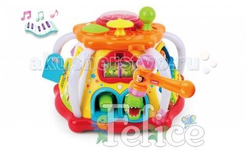 Развивающая игрушка  Мультицентр с молоточком Felice