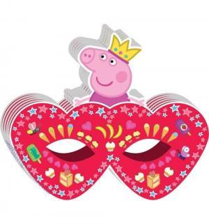 Маска бумажная  Пеппа-принцесса 18 х 15 см Peppa Pig