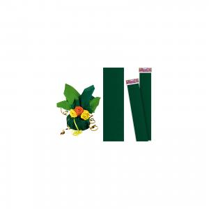 Зеленая крепированная бумага 50*250 см TUKZAR