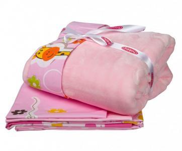 Комплект в кроватку  с покрывалом Puffy (5 предметов) Hobby Home Collection