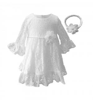 Платье , цвет: белый LP Collection